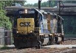 CSX GP38-2S #6151 on C964-07