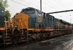CSX ES44AC #3005 on Lite Engine Move