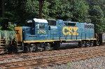 CSX GP38-2 #2745 on Q418-27