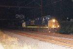 CSX ES40DC #5222 on Q409-27