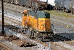 BNSF SD70MAC #9981 in CSX Woodbourne Yard