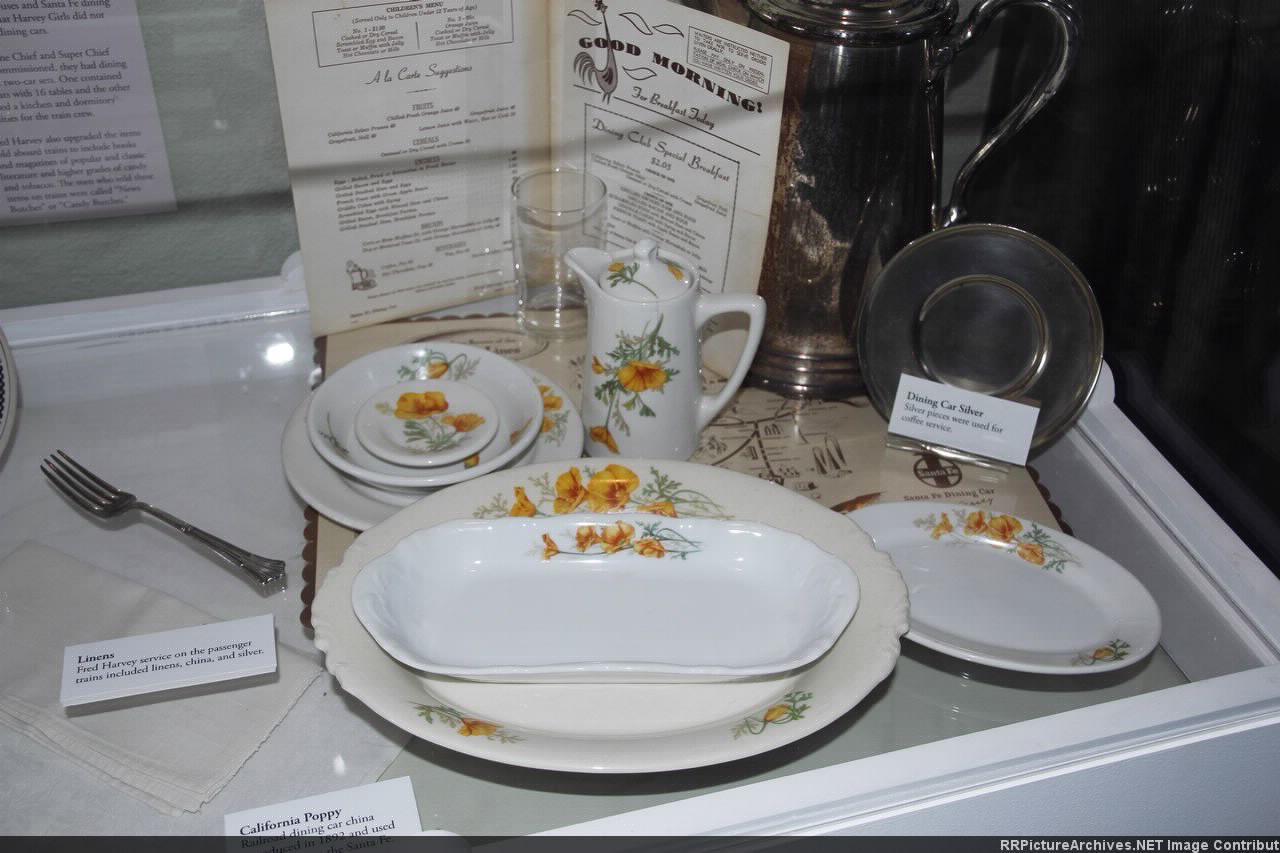 Fred Harvey Golden Poppy china