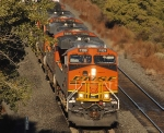 First train for us that day - BNSF 7109 eastbound
