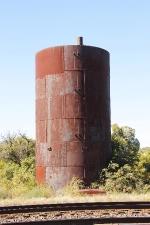 Old Santa Fe water tank
