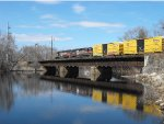 NMED over the Concord River