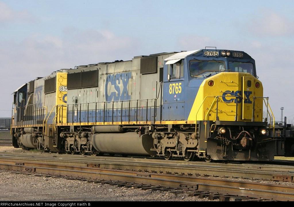 CSX 8765