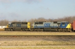 CSX 8864 and 717