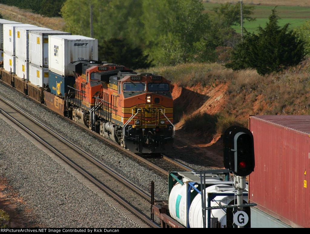 BNSF 7202 as DPU