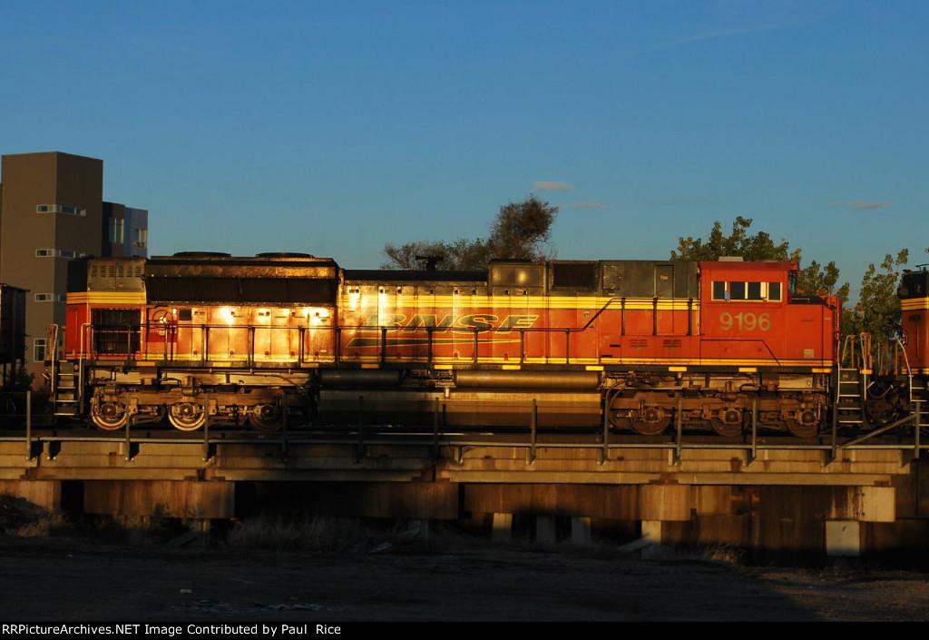 BNSF 9196