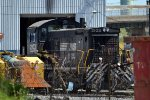 NS SW1001 2103 sitting by its lonesome in Pavonia Yard