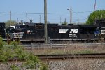 NS C40-9W 9891 trails behind the 1084