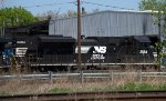 NS SD70M-2 2684 third out on the 64W lash-up