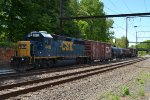 CSX GP38-2S 4418 on the rear of C770-17
