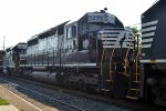 NS SD40-2 3439 third out on H68