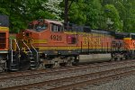 BNSF C44-9W 4929 in the middle on K040-07