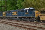 CSX SD50-2 8625 trails on W952