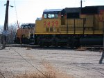 Union Pacific SD60M no. 2429 and AC44CW no. 6516
