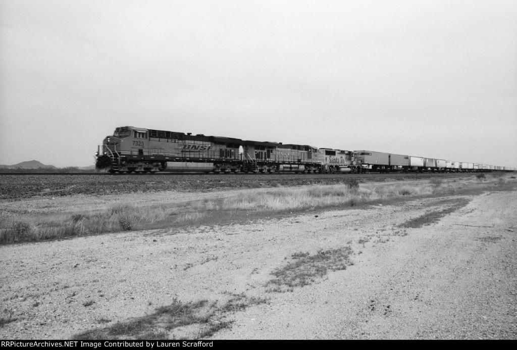 BNSF 7323 E/B