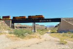 BNSF DPUS 5479 and 5055 East