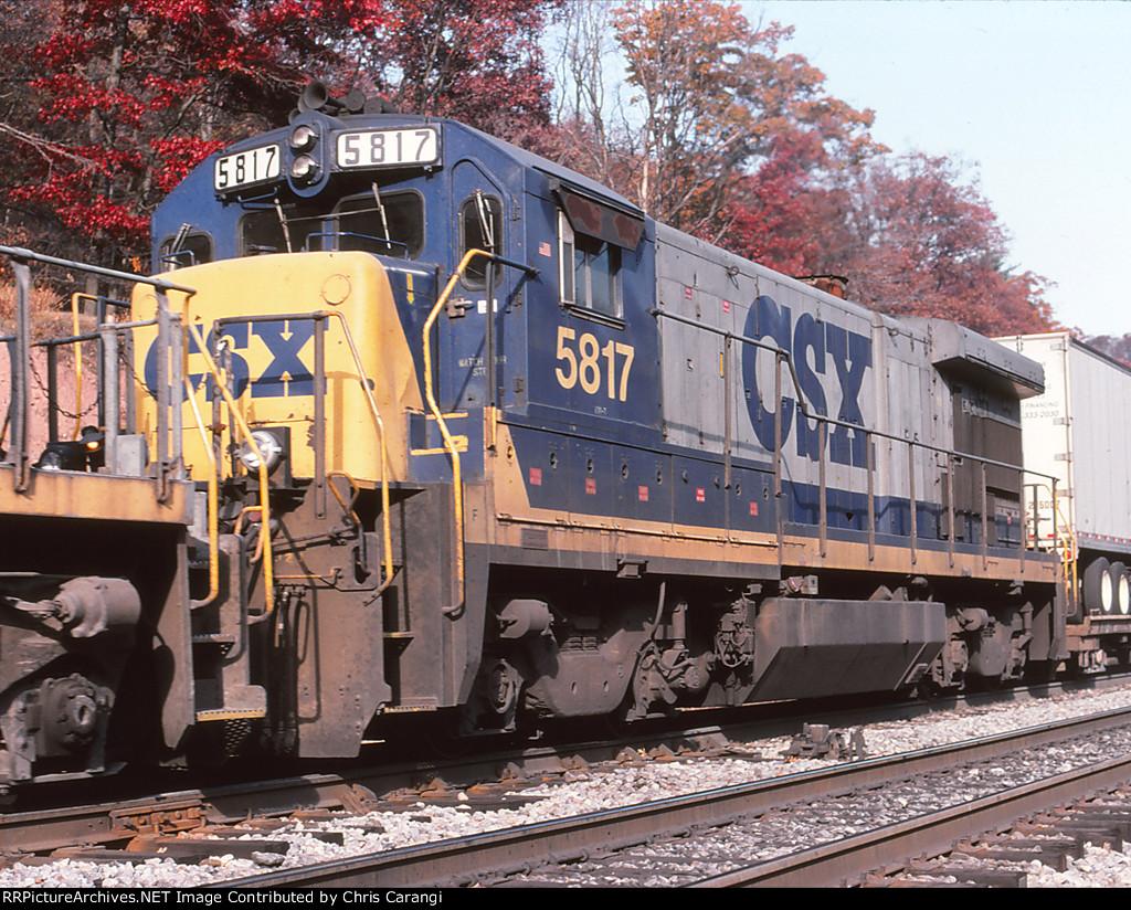 CSXT 5817