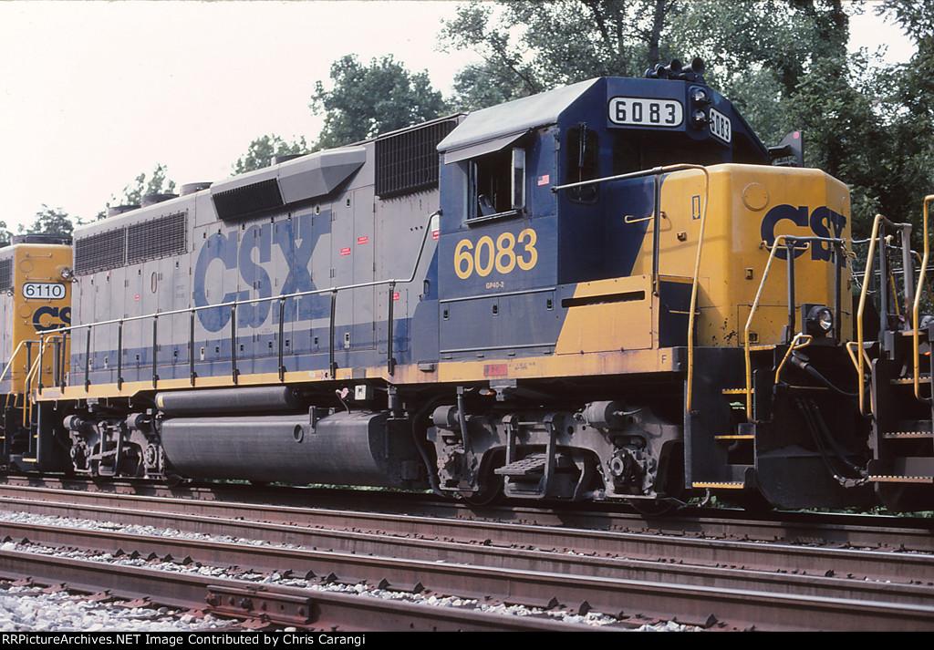 CSXT 6083 on Q316