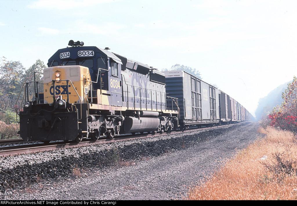 CSXT 8034