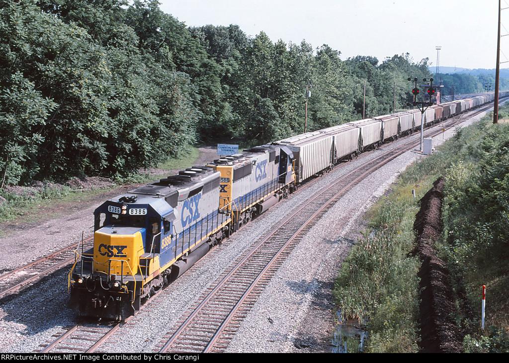 CSXT 8386 on G171