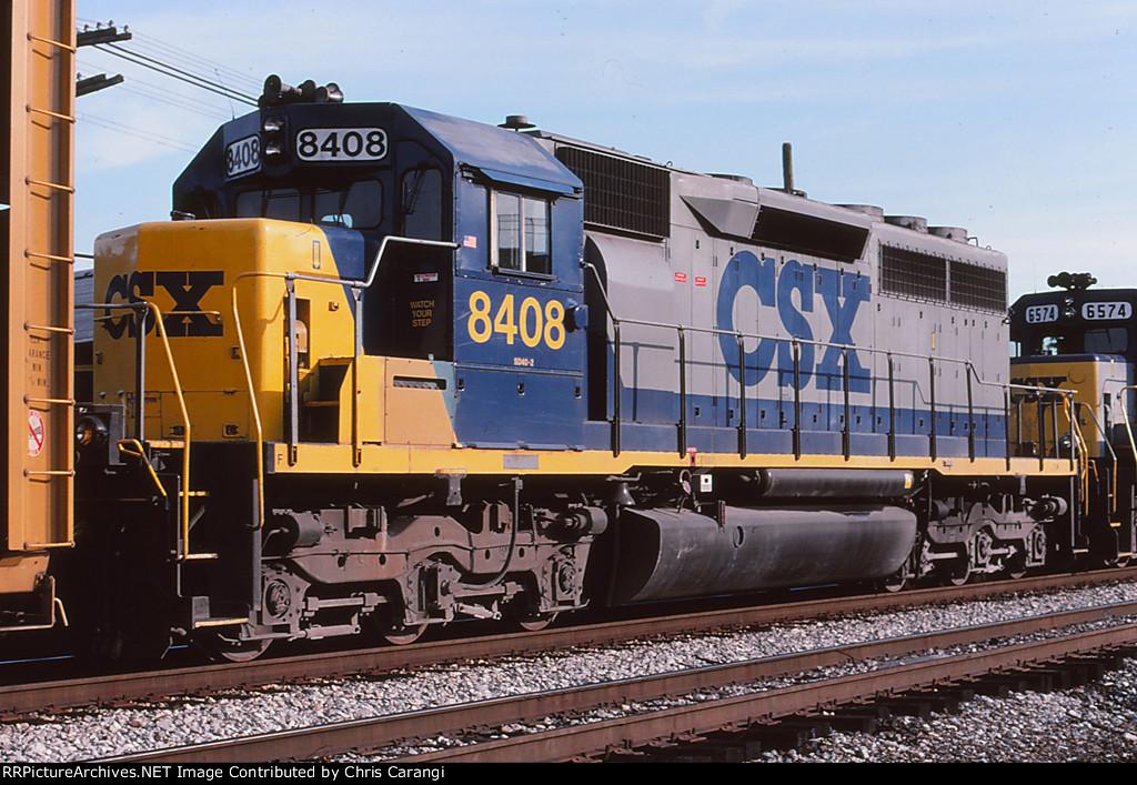 CSXT 8408 on Q276