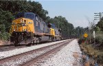 CSXT 154 & 600 on EB coal train