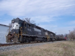 NS 5116, southbound 3/1/06,