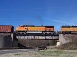 BNSF 5399 northbound on NS 2/27/06