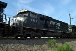 NS SD60E 6903 trails on 17G