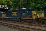 CSX SD40-3 4026 fifth out on Q438-24