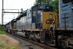 CSX SD40-3 4028 second out on Q438-26