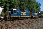 CSX Road Slug 2230 trails on Q439-03