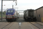 MARC 4912 and Amtrak 797