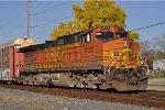 BNSF 4121 South On NS 28 G