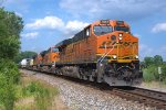 BNSF 7851 southbound at Vance Road - Moraine, Ohio