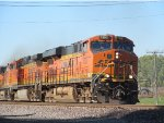 BNSF #7307 at Sugar Creek, MO