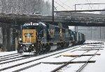 CSX SD50-2 #2492 on K533-29