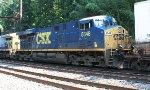 CSX ES40DC #5348 on Q032-12