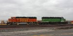 Cloudy Days on the BNSF