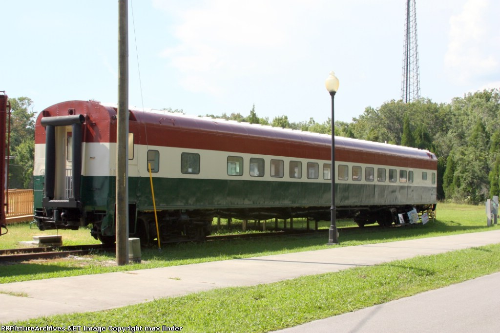 passenger car at train station