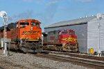 BNSF 9227 Leads a loaded ore train SB.