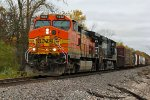 BNSF 4692 All messed up on the front!!