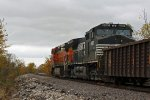 NS 8995 2nd unit out on a freight.