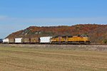 Fall color and fast freight's.
