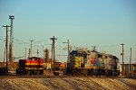 KCS 1921 and other's sit at the Ex GWWR railyard.