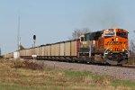 BNSF 6311 Leads a loaded coal drag SB into Elsberry Mo.