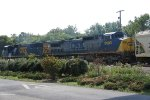 CSX 8735 with 9000